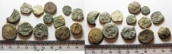 Ancient Coins - AS FOUND. LOT OF 12 GREEK BRONZE COINS