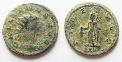 Ancient Coins - BEAUTIFUL AS FOUND GALLIENUS AE ANTONINIANUS