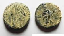 Ancient Coins - AS FOUND CONSTANTINE I AE 4 . POSTHUMOUS ISSUE