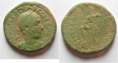 Ancient Coins - Judaea. Caesarea Maritima under Trajan Decius (AD 249-251). AE 29mm, 18.65g.