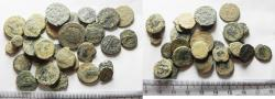 Ancient Coins - AS FOUND: LOT OF 30 ANCIENT ROMAN BRONZE COINS