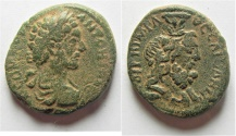 Ancient Coins - Samaria. Caesarea Maritima under Commodus (AD 177-192). AE 24mm, 10.61g.