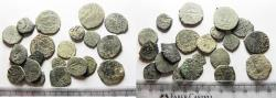 Ancient Coins - ISLAMIC. MAMLUK. LOT OF 20 AE FALS COINS. AS FOUND. GREAT STUDY GROUP!