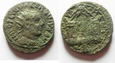 Ancient Coins - AS FOUND: PHOENICIA, Tyre. Valerian I. AD 253-260. Æ 28