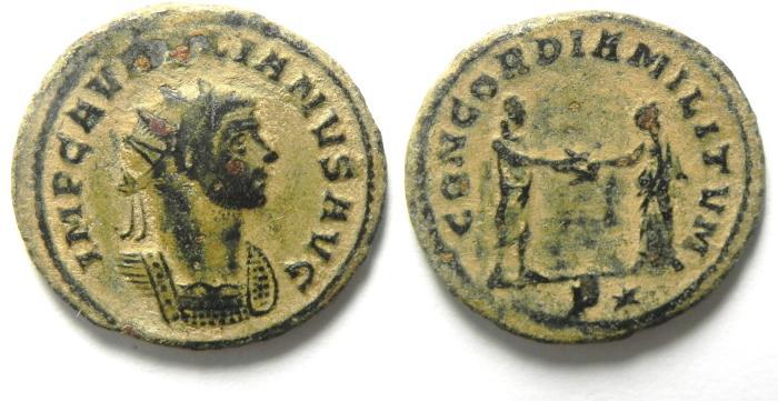 Ancient Coins - Aurelian Antoninianus  , VERY NICE PORTRIATE!