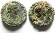 Ancient Coins - EGYPT , ALEXANDRIA , AURELIAN & VABALATHUS POTIN TETRADRACHM , BEAUTIFULL PORTRIATE