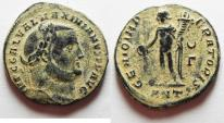 Ancient Coins - ORIGINAL DESERT PATINA: GALERIUS AE FOLLIS