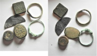 Ancient Coins - LOT OF ANCIENT ITEMS. ROMAN - ISLAMIC. 200 - 800 A.D
