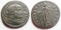 Ancient Coins - MAXIMINUS AE FOLLIS. NICE