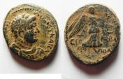 Ancient Coins - JUDAEA. HERODIAN DYNASTY. AGRIPPA II UNDER DOMITIAN AE 21