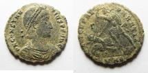 Ancient Coins - ORIGIANAL DESERT PATINA. CONSTANTIUS II AE CENT.