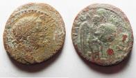 Ancient Coins - JUDAEA. JUDAEA CAPTA UNDER TITUS. AE 21. NEEDS CLEANING