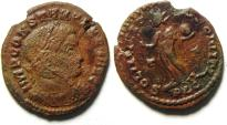 Ancient Coins - CONSTANTINE I AE FOLLIS , LYONS MINT