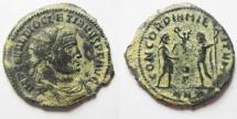 Ancient Coins - CHOICE AS FOUND DIOCLETIAN AE ANTONINIANUS