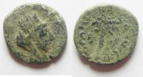 Ancient Coins - Phoenicia, Tyre. Pseudo-autonomous issue. First century A.D. AE 14