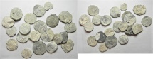 Ancient Coins - EGYPT. ALEXANDRIA. SECOND-THIRD CENTURIES AD. GROUP OF 20 LEAD TESSERAE
