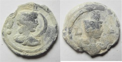 Ancient Coins - Antinoos: Egypt. Alexandria. Second-third centuries AD. Lead tessera (22mm, 4.86g).