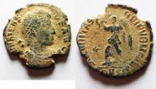 Ancient Coins - ORIGINAL DESERT PATINA. VALENS AE 3