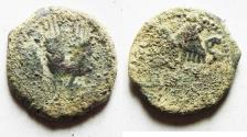 Ancient Coins - AS FOUND: Judaea. Herodian Dynasty. Agrippa I AE prutah