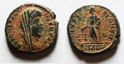 Ancient Coins - ORIGINAL DESERT PATINA: CONSTANTINE I POSTHUMOUS ISSUE. AE 4. RARE!