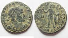 Ancient Coins - CONSTANTINE I AE FOLLIS. ARLES MINT