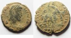 Ancient Coins - CONSTANTIUS II AE CENT. AS FOUND