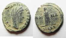 Ancient Coins - CONSTANTINE I AE 4 . DESERT PATINA. POSTHUMOUS ISSUE.