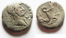 Ancient Coins - EGYPT. ALEXANDRIA . TARJAN BILLON TETRADARCHM