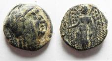 Ancient Coins - NABATAEAN KINGDOM. ARETAS II/III AE 17