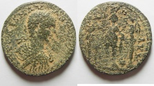 Ancient Coins - PHOENICIA , TYRE , Elagabalus, 218-222 , Æ 27