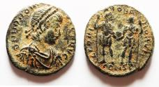 Ancient Coins - HONORIUS AE 4 .