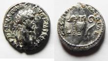 Ancient Coins - Nerva. AD 96-98. AR Denarius. Rome mint. Struck AD 97.