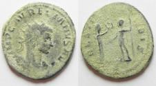Ancient Coins - AURELIAN  AE ANTONINIANUS AS FOUND