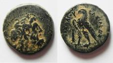Ancient Coins - PTOLEMAIC KINGDOM. PTOLEMY III AE 19. TYRE MINT