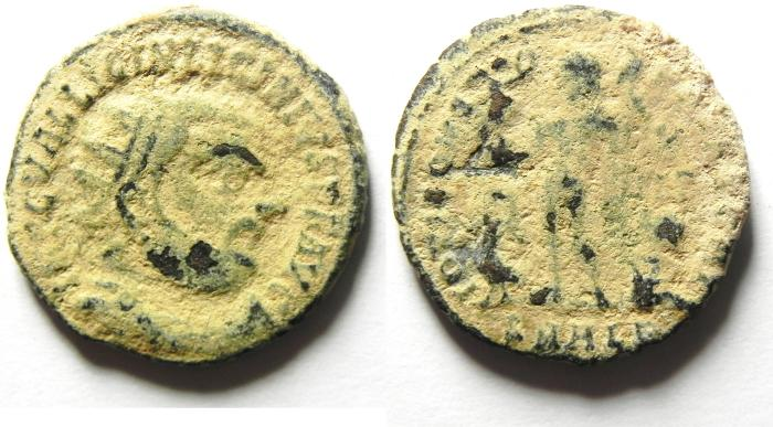 Ancient Coins - LICINIUS I AE FOLLIS , AS  FOUND