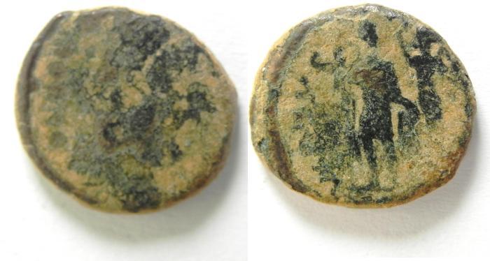 Ancient Coins - ROMAN AE 3 , CONSTANTIUS II
