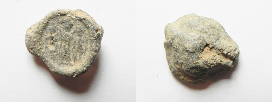 Ancient Coins - ROMAN LEAD BULLA