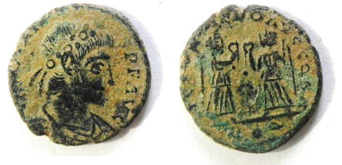 Ancient Coins - CONSTANS AE 3  AS FOUND