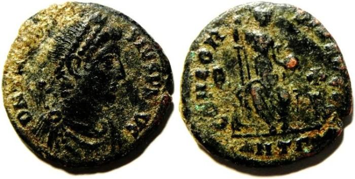 Ancient Coins - THEODOSIUS I AE 3