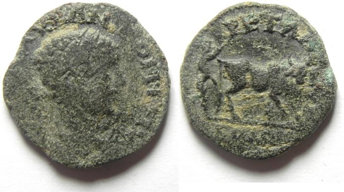 Ancient Coins - ARABIA , PETRA , ELAGABALUS FOUNDER COIN , AE 21