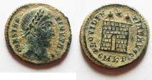 Ancient Coins - ORIGINAL DESERT PATINA: CONSTANTINE I THE GREAT AE 3.