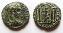 Ancient Coins - Decapolis. Nysa-Scythopolis under Elagabalus (AD 218-222). AE 23mm, 10.55g. Struck in civic year 282 (AD 218/9).