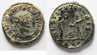 Ancient Coins - BEAUTIFUL AS FOUND PROBUS SILVERED AE ANTONINIANUS