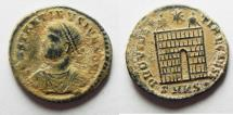 Ancient Coins - CONSTANTINE II AE 3 . NICE DESERT PATINA