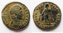 Ancient Coins - BEAUTIFUL AS FOUND AE 3 OF HELENA