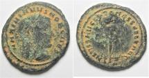 Ancient Coins - MAXIMINUS AE FOLLIS