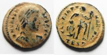 Ancient Coins - AS FOUND. VALENS AE 3