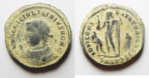 Ancient Coins - BEAUTIFUL LICINIUS II AE FOLLIS. DESERT PATINA