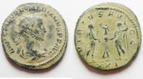 Ancient Coins - NUMERIAN AE ANTONINIANUS AS FOUND WITH NICE DESERT PATINA