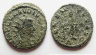 Ancient Coins - CLAUDIUS II GOTHICUS ANTONINIANUS AS FOUND